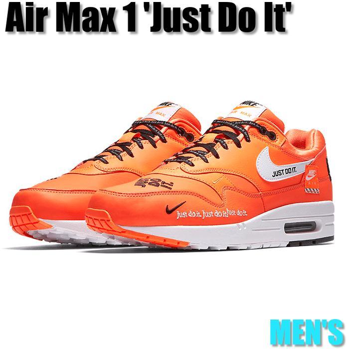 f93d0e502afa76 Air Max 1 Just Do It Pack Orange Kie Ney AMAX 1 SE white   orange AO1021-800  men sneakers