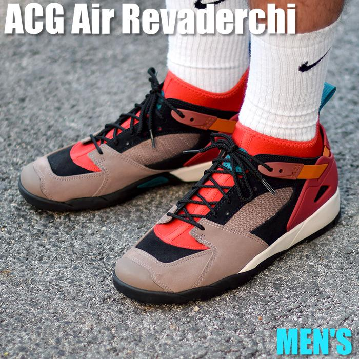 bf423ad7dde Nike ACG Air Revaderchi Nike ACG エアリバデルチ AR0479-600 men sneakers running  shoes