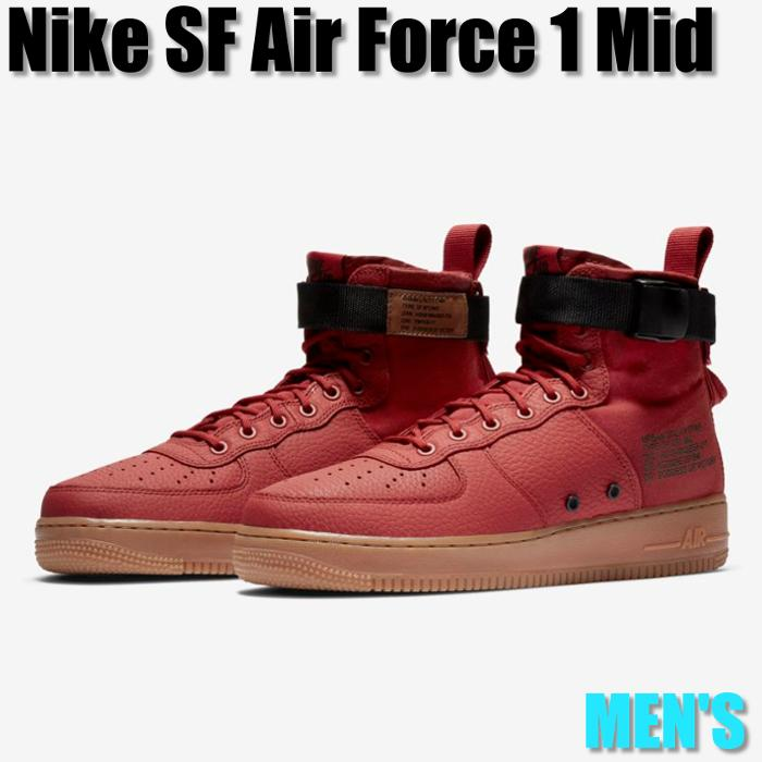 wholesale dealer f54d4 1b0c1 Nike SF Air Force 1 Mid Nike SF air force 1 mid 917,753-600 men's sneakers  running shoes
