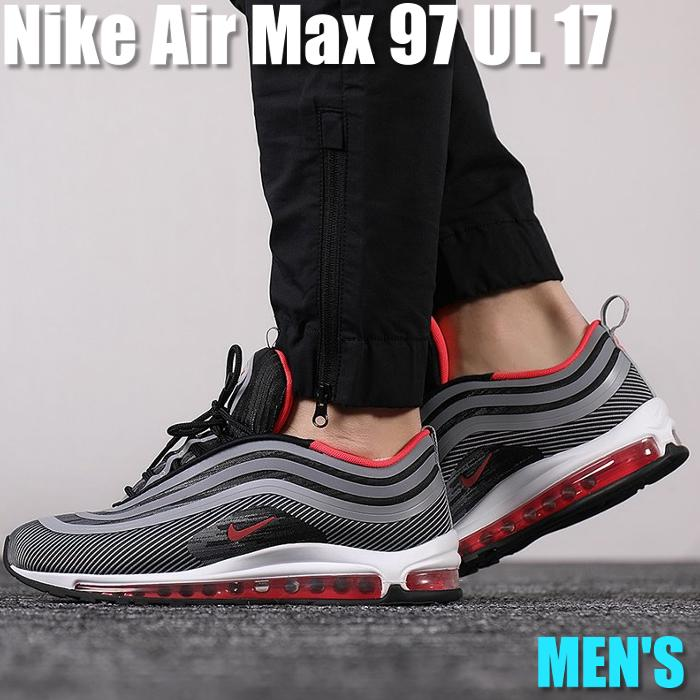 Nike Air Max 97 Ultra 17 Kie Ney AMAX 97 ultra 17 918,356 010 men's sneakers running shoes