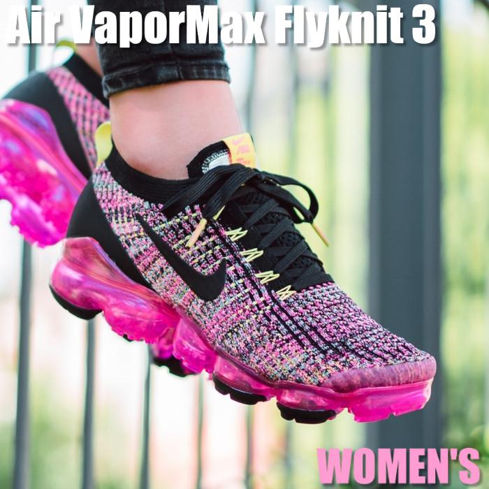 Nike Air VaporMax Flyknit 3 ナイキ エア ヴェイパーマックス フライニット 3 AJ6910-006 ウィメンズ レディース スニーカー ランニングシューズ
