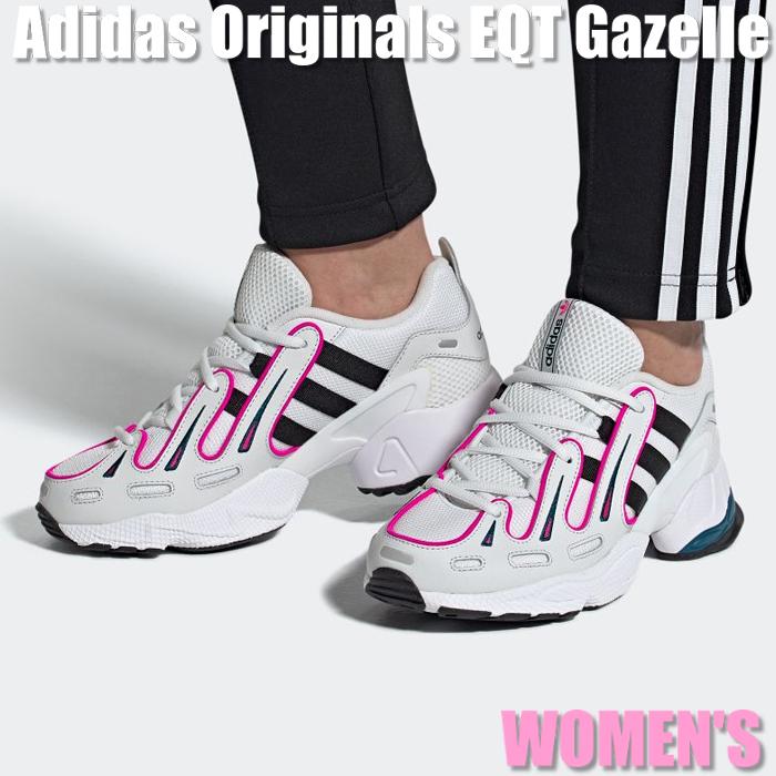 【割引クーポン配布中!!】Adidas Originals EQT Gazelle アディダス オリジナルス EQT ガゼル EE6486 ウィメンズ レディース スニーカー ランニングシューズ 04EB-362942991376