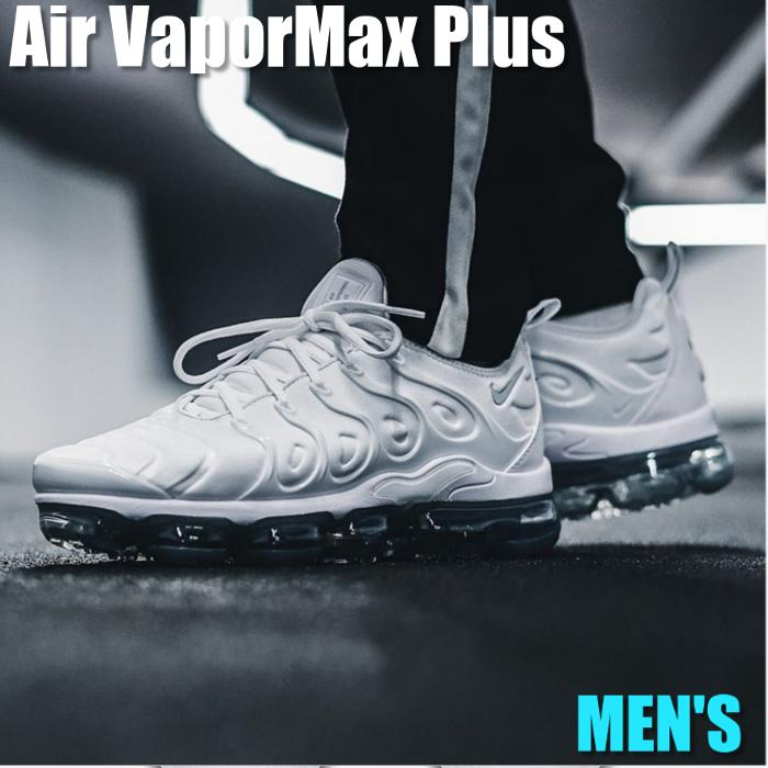 lower price with 40dd8 e624d Nike Air VaporMax Plus Nike air vapor max plus 924,453-100 men's sneakers  running shoes
