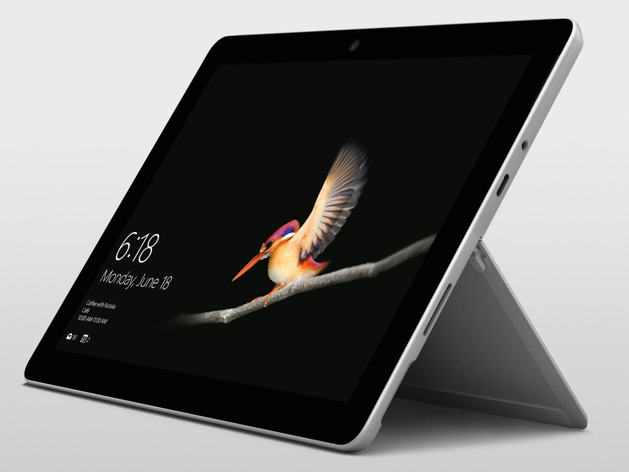 マイクロソフト キーボード別売 Surface Go Pentium Gold eMMC 64GB 4GB ペン非同梱モデル Windowsタブレット Office付き・10型 MHN-00014 シルバー