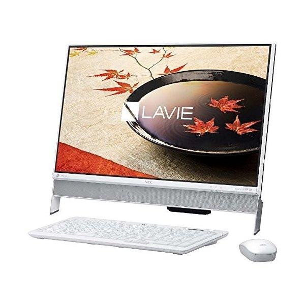 【新品同様(展示品・未通電)・送料無料(沖縄・離島除く)】NEC LaVie Desk All-in-one PC-DA350FAW
