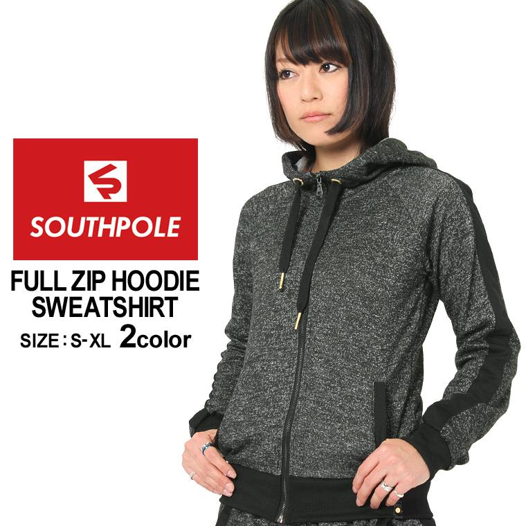 Big SOUTH POLE southpole hoodies women s zip-up sweatshirts (southpole-15323-1512)  southpole ladies Street large zip up parka full zip sweat parka size XL ... 1b4417ec2