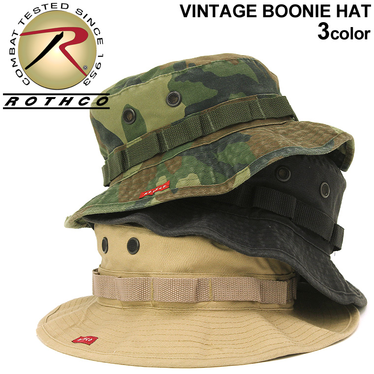bdb64e7018d ROTHCO ロスコブーニーハット hat vintage hat men [ロスコキャップロスコ ROTHCO boo knee hat  military duck camouflage camouflage ...