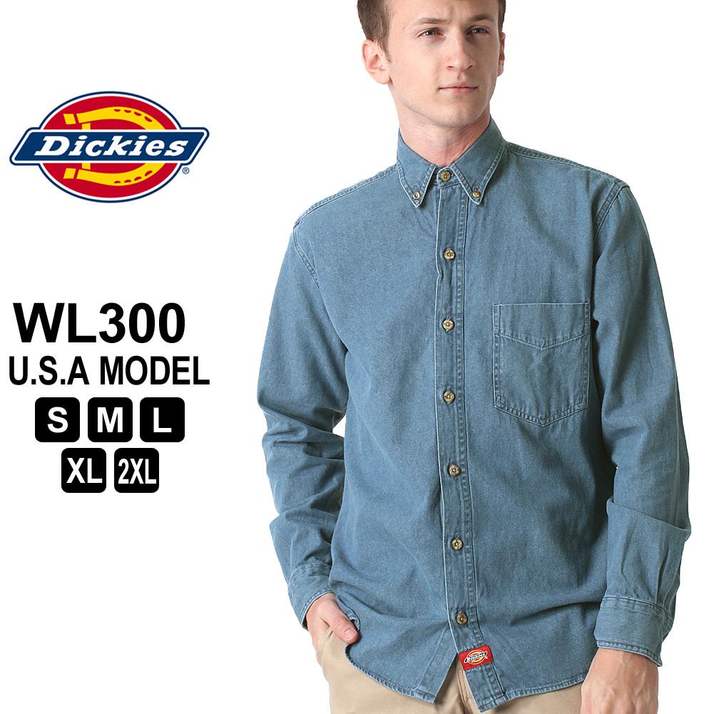56aae0bd56 A Dickies Dickies Dickies shirt men long sleeves denim shirt  Dickies  Dickies denim shirt men long sleeves American casual shirt denim long  sleeves shirt ...
