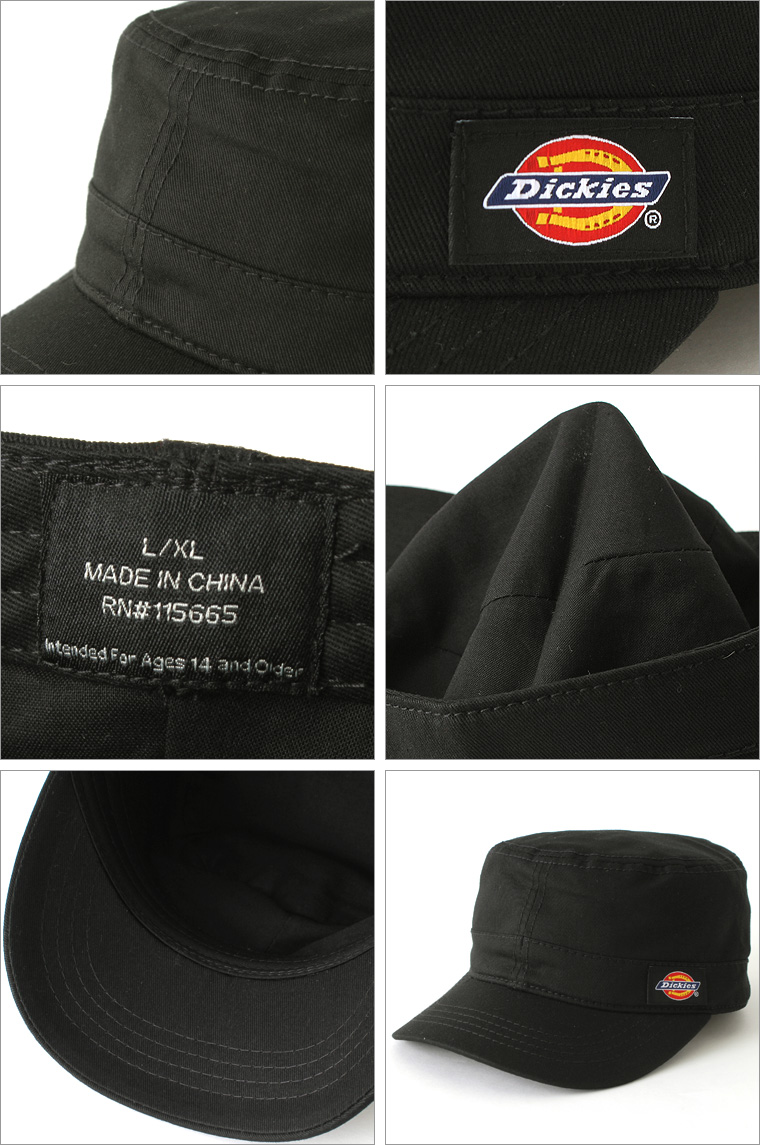 Dickies Dickies Cap Hat mens plain! (874 fitted cadet) Dickies dickies hats  cap caps men s Cap military Cap plain black Black casual Cap branding 872a0bb12c7