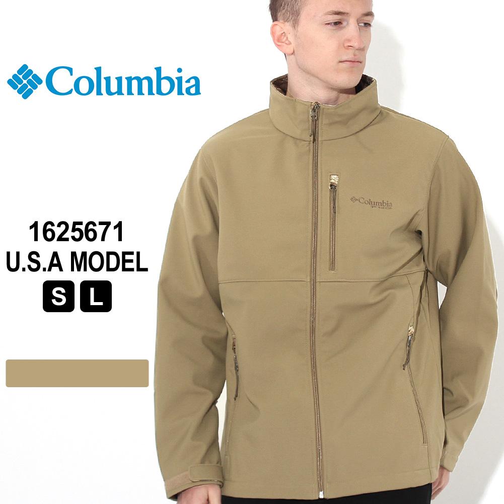 【送料無料】 コロンビア ジャケット ソフトシェル 1625671|ブランド Columbia|アウター 防寒 耐久 耐風 防汚 撥水 オムニシールド