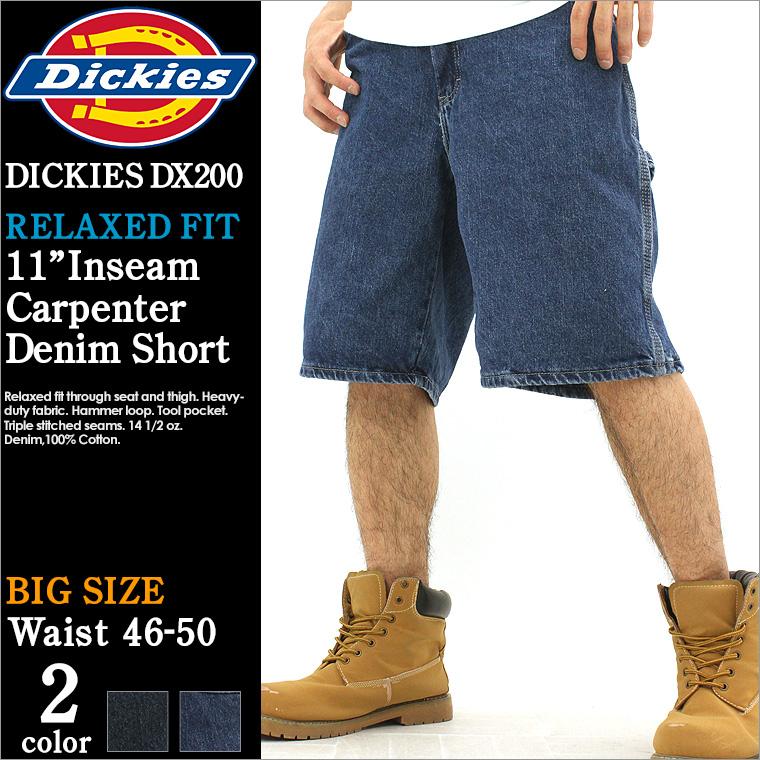 大 Dickies dickies 短裤牛仔男式牛仔短裤牛仔裤画家裤子大