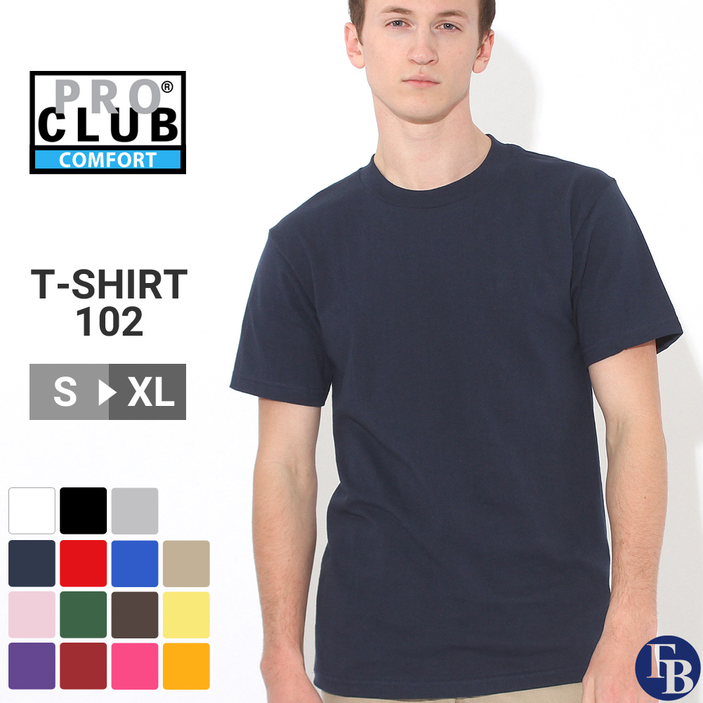 7c0ca560 Size (16 colors) that a PRO CLUB pro club t shirt men short sleeves ...