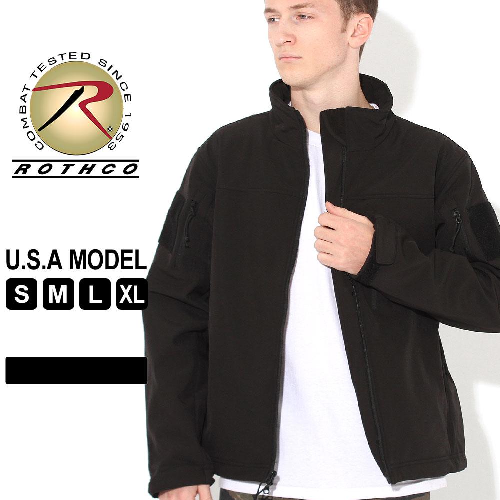 ロスコ ジャケット フリースライナー ソフトシェル メンズ 大きいサイズ USAモデル 米軍|ブランド ROTHCO|ミリタリー 防寒 撥水 防水