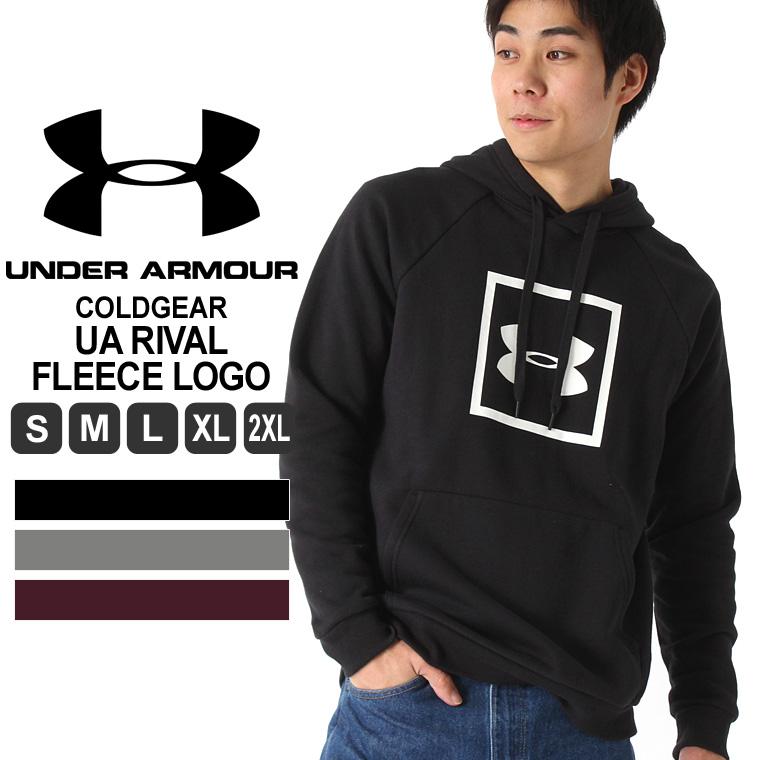 アンダーアーマー パーカー プリント メンズ プルオーバー 裏起毛 大きいサイズ USAモデル ブランド UNDER ARMOUR スポーツウェア S M L LL 2L