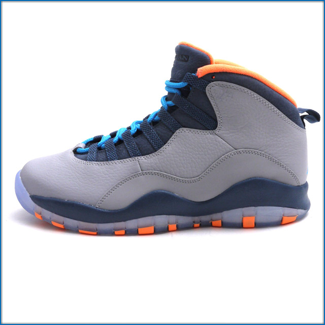 huge selection of b1973 eb0b4 10 NIKE( nike) AIR JORDAN RETRO (sneakers) WOLF GREY DARK POWDER BLUE-NEW  SLATE-ATOMIC ORANGE 310,805-026 403-000190 -302