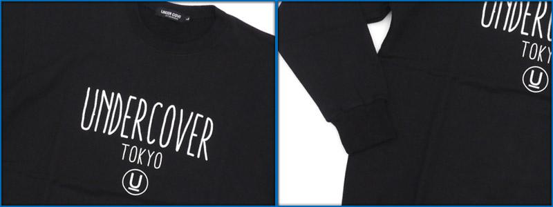 UNDERCOVER(下面覆盖物)TOKYO LOGO运动衫BLACK 409-000349-051