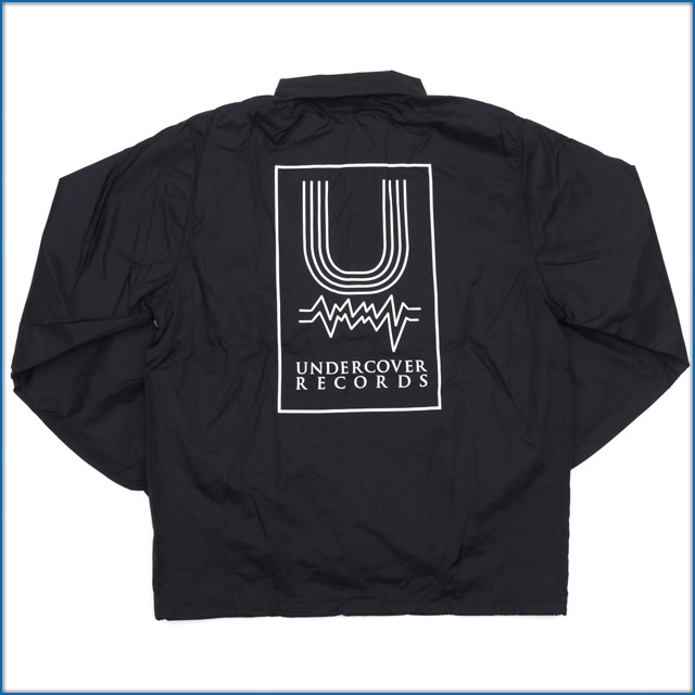 UNDERCOVER (under cover) U coach jacket BLACK 425-000201-041