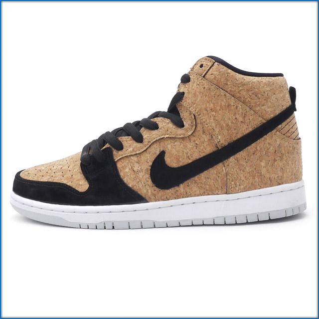 NIKE SB (Nike) (Esther) 313171 BLACK/BLACK-HAZELNUT-WHITE-026 DUNK HIGH  PREMIUM SB (dunk) (sneakers) (shoes) 491 - 001763 - 291