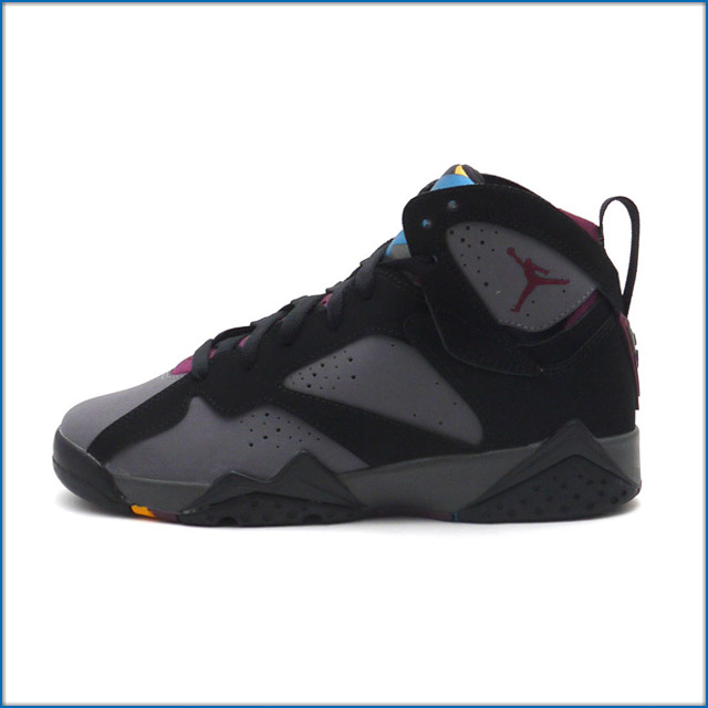 NIKE (Nike) AIR JORDAN 7 RETRO BG BLACK/BRDX-LT GRPHT-MDNGHT FG (Jordan) ( sneakers) (shoes) 304774-034 491 - 001865 - 211