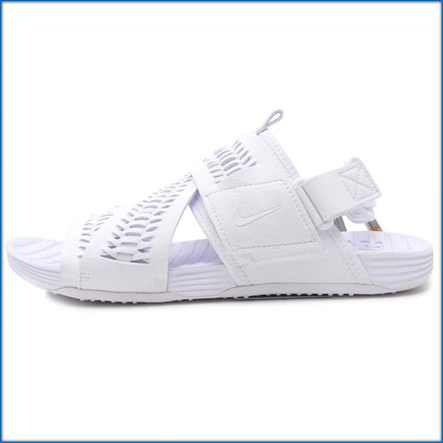 NIKE (Nike) AIR SOLARSOFT ZIGZAG WVN SP (solar soft zigzag) (sandals) WHITE/WHITE 776444-110 491 - 001883 - 260