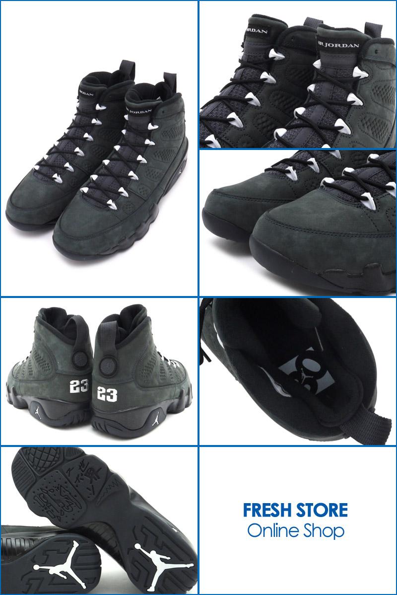 online retailer 819eb d1bd7 ... uk nike nike air jordan 9 retro anthracite white black jordan sneakers  shoes 302370 013 491