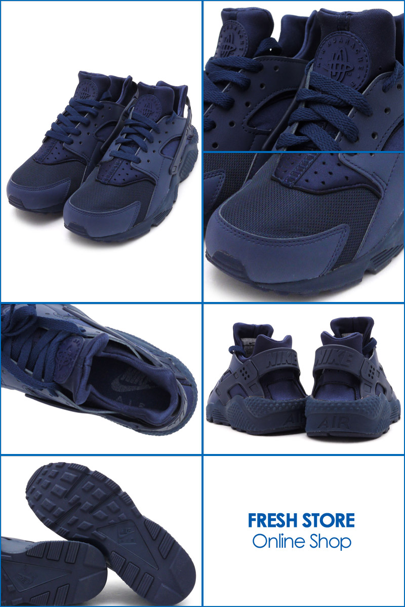 5ec44e5ef76f NIKE (Nike) AIR HUARACHE RUN (Erhart) (sneakers) (shoes) MIDNIGHT NAVY MID  NAVY-MID NVY 318429-440 491 - 001945 - 287