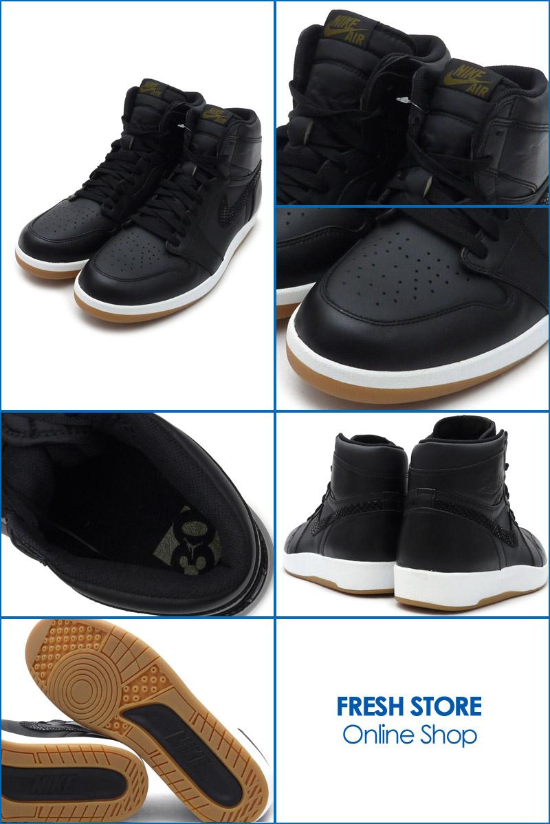 the latest adfa8 1b5e5 ... Nike NIKE AIR JORDAN 1.5 HIGH THE RETURN Air Jordan sneakers shoes BLACK  MILITIA GREENWHITE