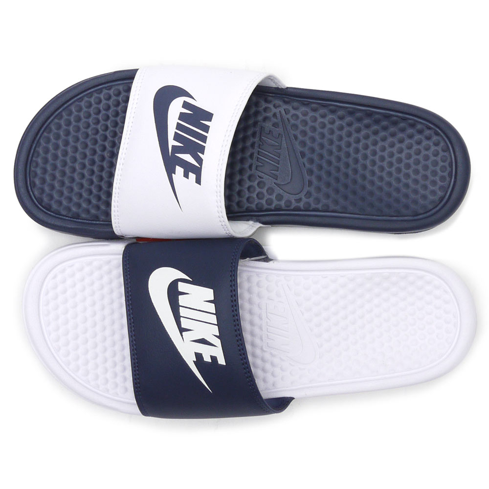 b32da59eb1f9 ... coupon nike nike midnight navy white 818736 410 benassi jdi mismatch  benassi miss match sandals shoes