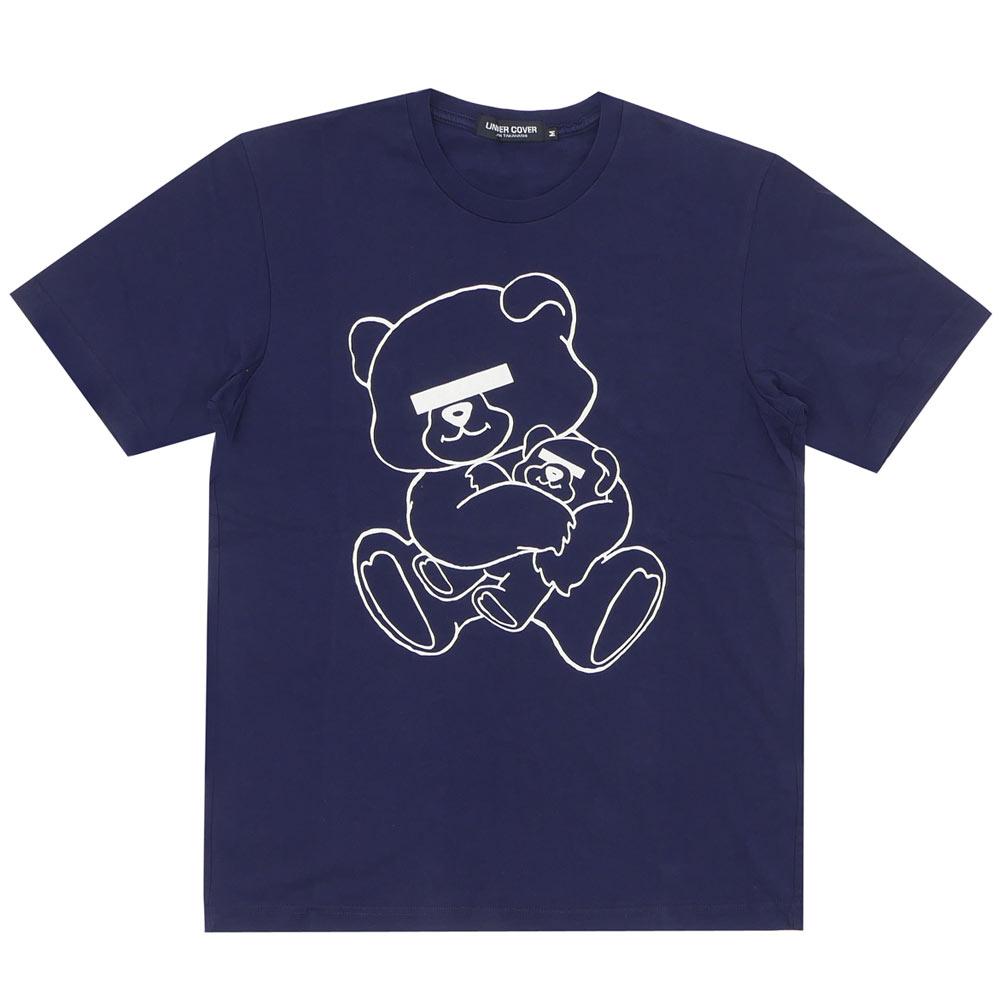 卧底 (下盖) NEU 熊 T 恤海军 200-004825-049 x