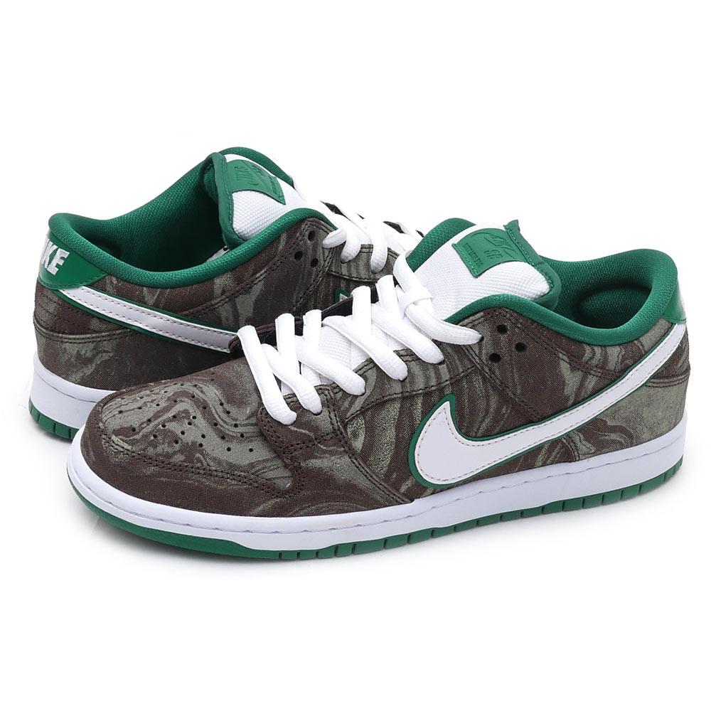 hot sale online 53034 033a4 NIKE SB Kie Ney's B DUNK LOW PREMIUM SB dunk Starbucks sneakers shoes  KHAKI/WHITEPINE GREEN 313170213 291002087285