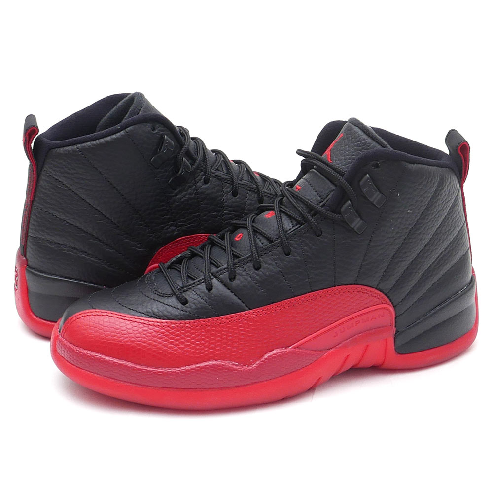 NIKE (Nike) AIR JORDAN 12 RETRO (Jordan) (sneakers) (shoe) BLCY/VRSITY RED  130690-002 291 - 002088 - 261 +