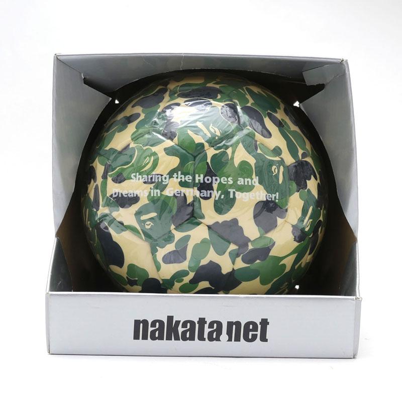 nakata.net(ナカタネット) x A BATHING APE(エイプ)コラボレーションサッカーボール