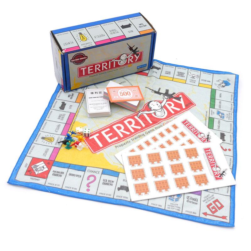 中古 BACKCHANNEL 期間限定で特別価格 バックチャンネル TERRITORY ボード型TOWEL ゲーム