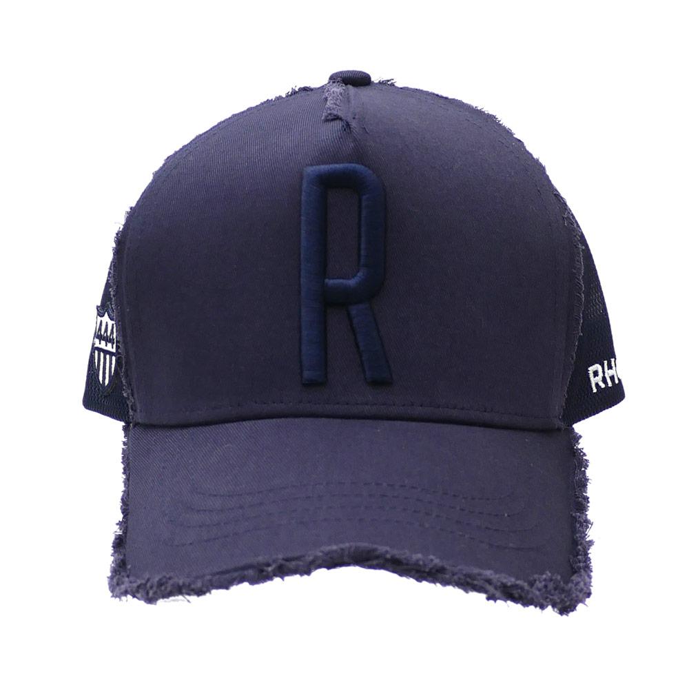 ロンハーマン RHC Ron Herman x ヨシノリコタケ YOSHINORI KOTAKE R LOGO MESH CAP キャップ NAVY 251001217017 【新品】