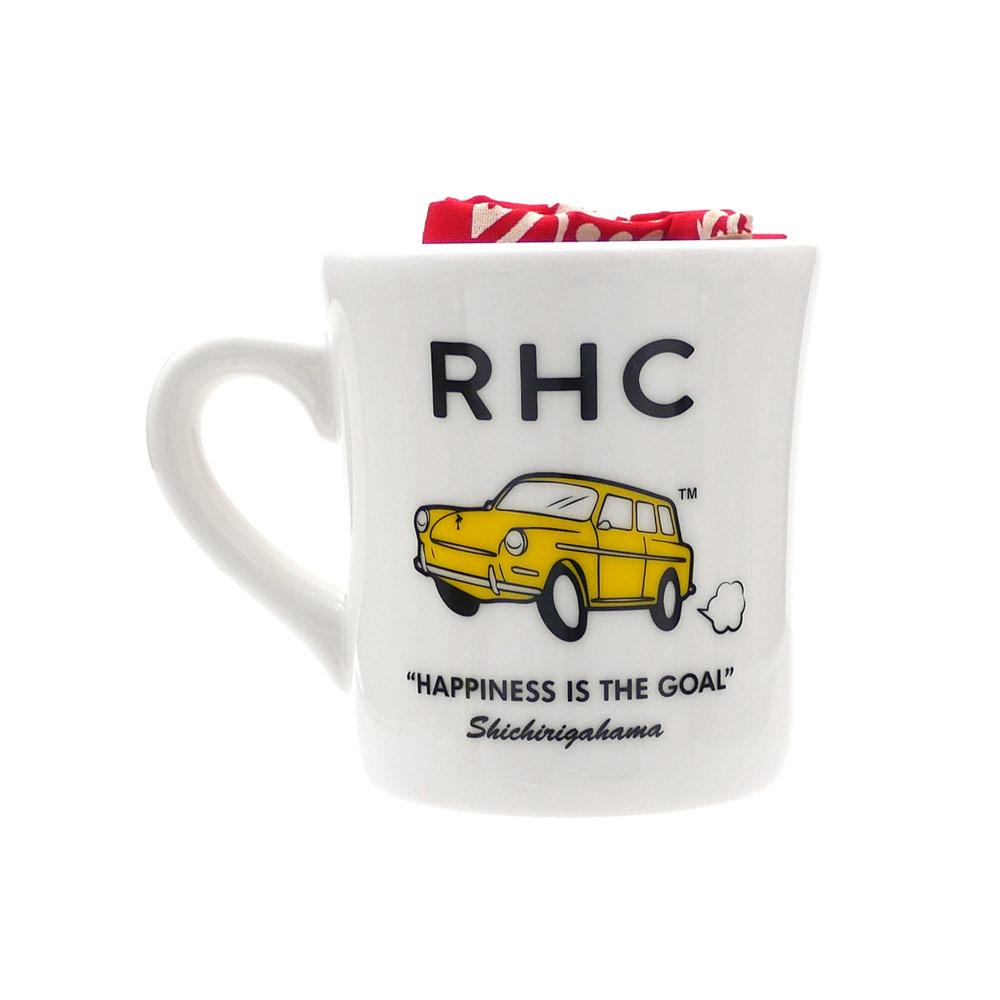 期間限定RonHermanポイント5倍 Ron Herman ロンハーマン MUGBANDANA 品質保証 SET MULTI 290-004588-018+ 新品 低価格 マグカップバンダナ セット