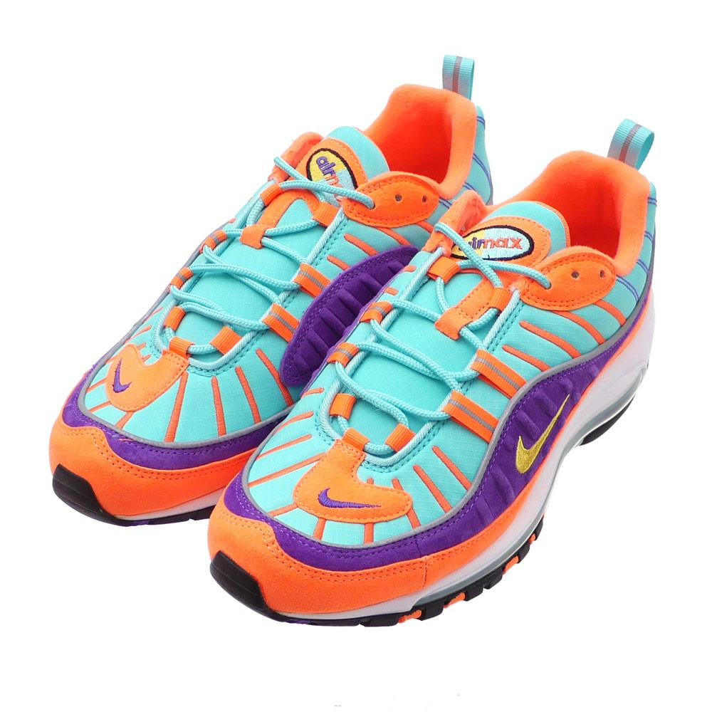 pretty nice a4e2f e7296 NIKE (Nike) AIR MAX 98 QS (Air Max) CONETOUR YELLOW-HYPER GRAPE  924,462-800 291-002385-299x
