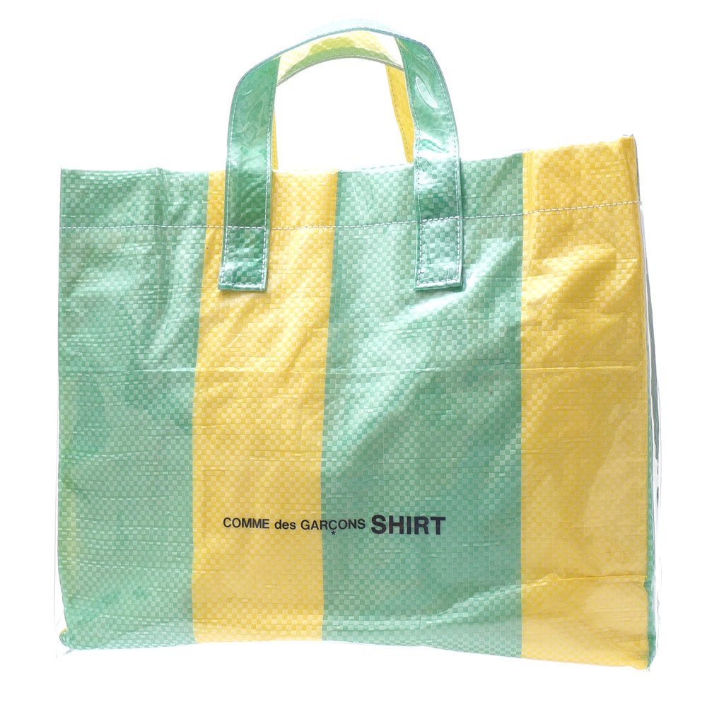COMME des GARCONS SHIRT コムデギャルソン シャツ PVC TOTE BAG トートバッグ MULTI 277002486015 【新品】