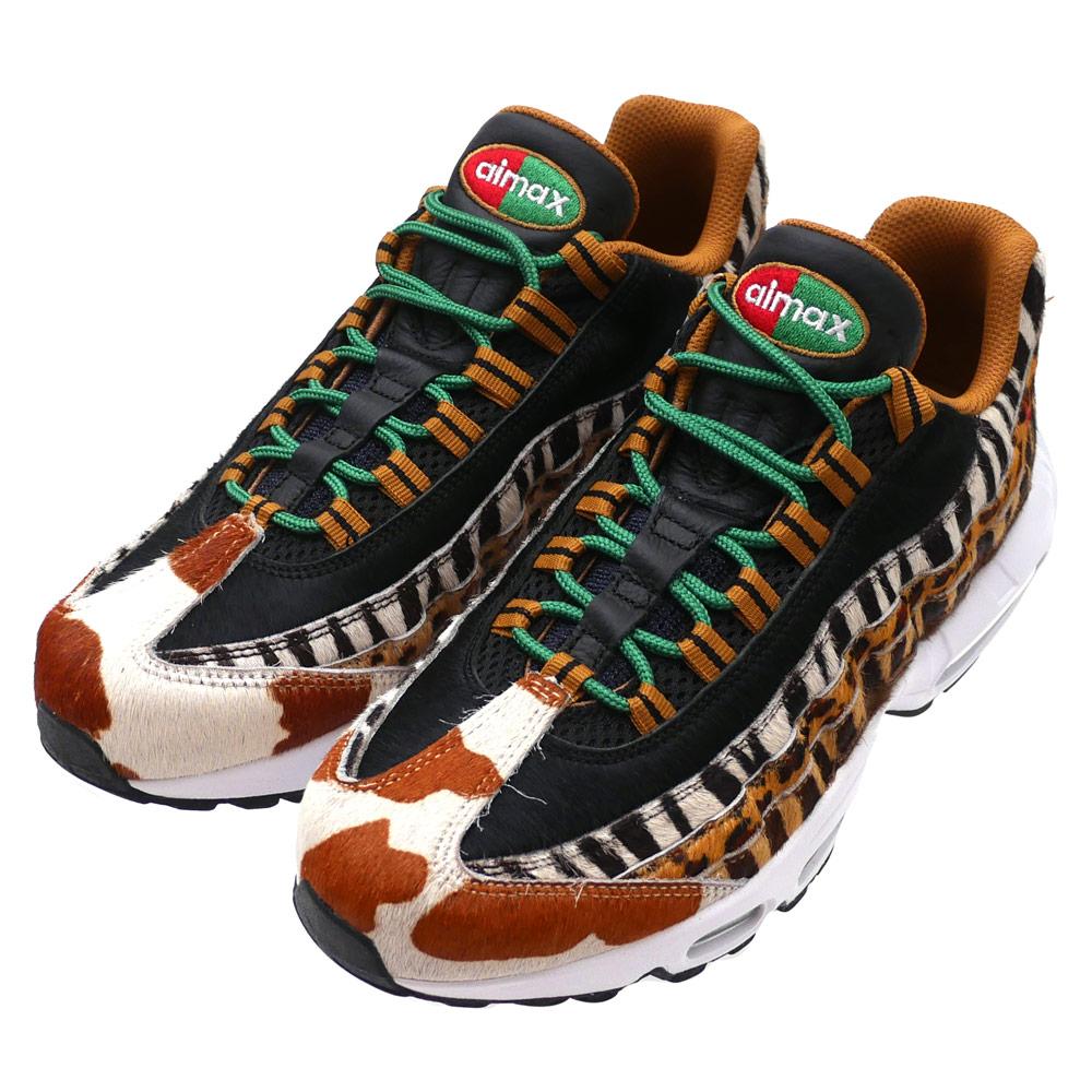 NIKE (Nike) AIR MAX 95 DLX (Air Max) PONY/SPORT RED-BLACK AQ0929-200  291-002407-279+