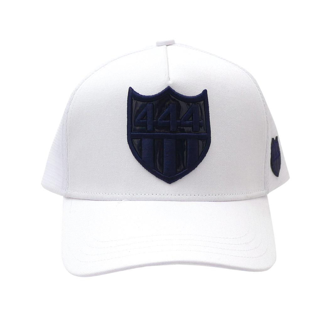 ヨシノリコタケ YOSHINORI KOTAKE x BARNEYS NEWYORK 444 LOGO MESH CAP キャップ WHITExNAVY 251001256010 【新品】