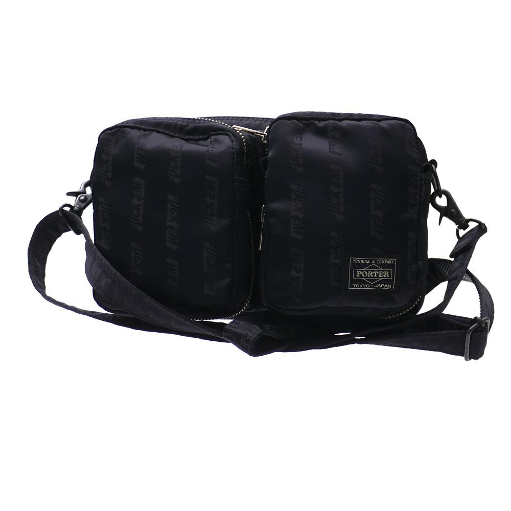 ネイバーフッド NEIGHBORHOOD EM SHOULDER BAG ショルダーバッグ BLACK ブラック 黒 メンズ 【新品】 182YSPTN CG03