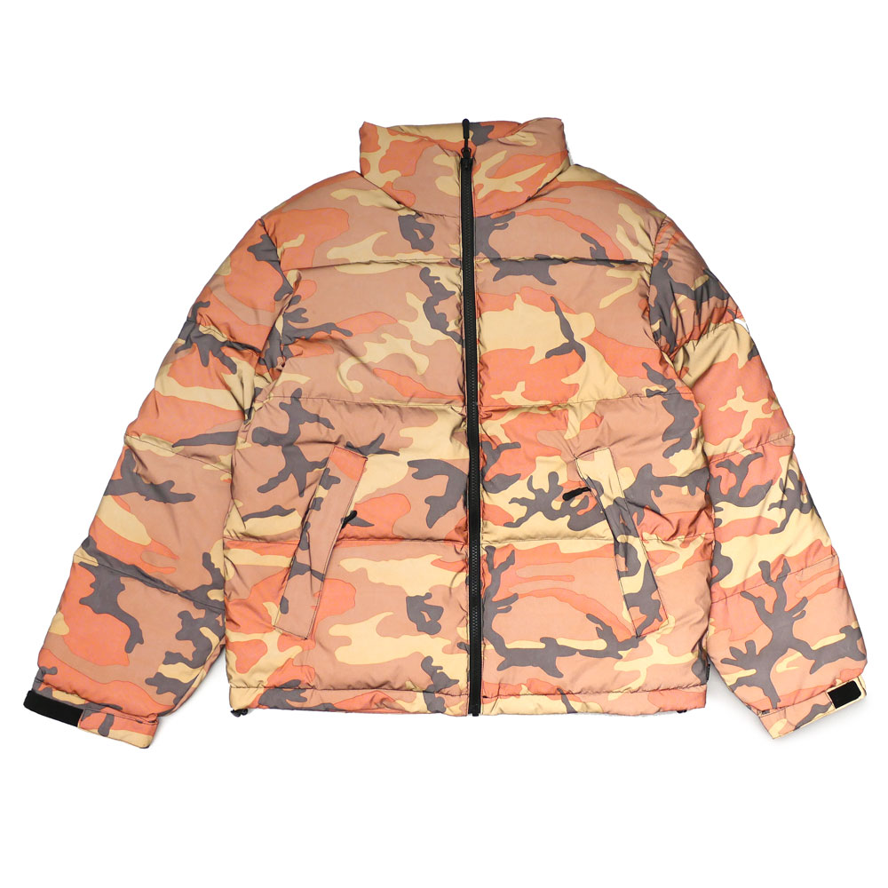 cbb29ed273d8d It is jacket which can enjoy luster only by the reflective material, Reflective  Camo Down Jacket! I corrupt bold camo and enclose down and a feather ...