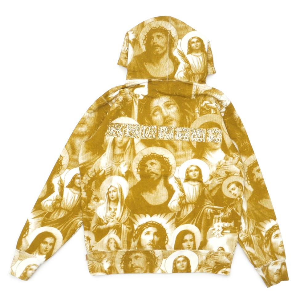 [期間限定!!店長気まぐれセール!!]シュプリーム SUPREME Jesus and Mary Hooded Sweatshirt スウェット パーカー GOLD ゴールド メンズ 【新品】 211000621