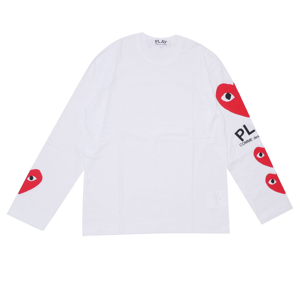 74dae7d53c06 It is the long sleeves T-shirt which corrupted the heart graphic with the  Mr. Philip パゴウスキー design to collect great support from the inside and ...