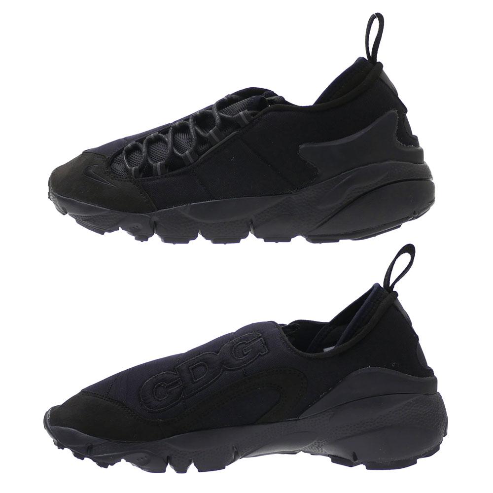magasin en ligne 82a81 e5698 ブラックコムデギャルソン BLACK COMME des GARCONS x Nike NIKE AIR FOOTSCAPE MOTION feet  cape BLACK BV0075 001 291002546