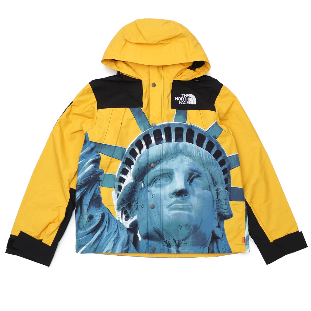 New シュプリーム Supreme X ザノースフェイス The North Face 19fw Statue Of Liberty Mountain Jacket Mountain Jacket Yellow Yellow Men 2019fw 19aw 2019aw New Work