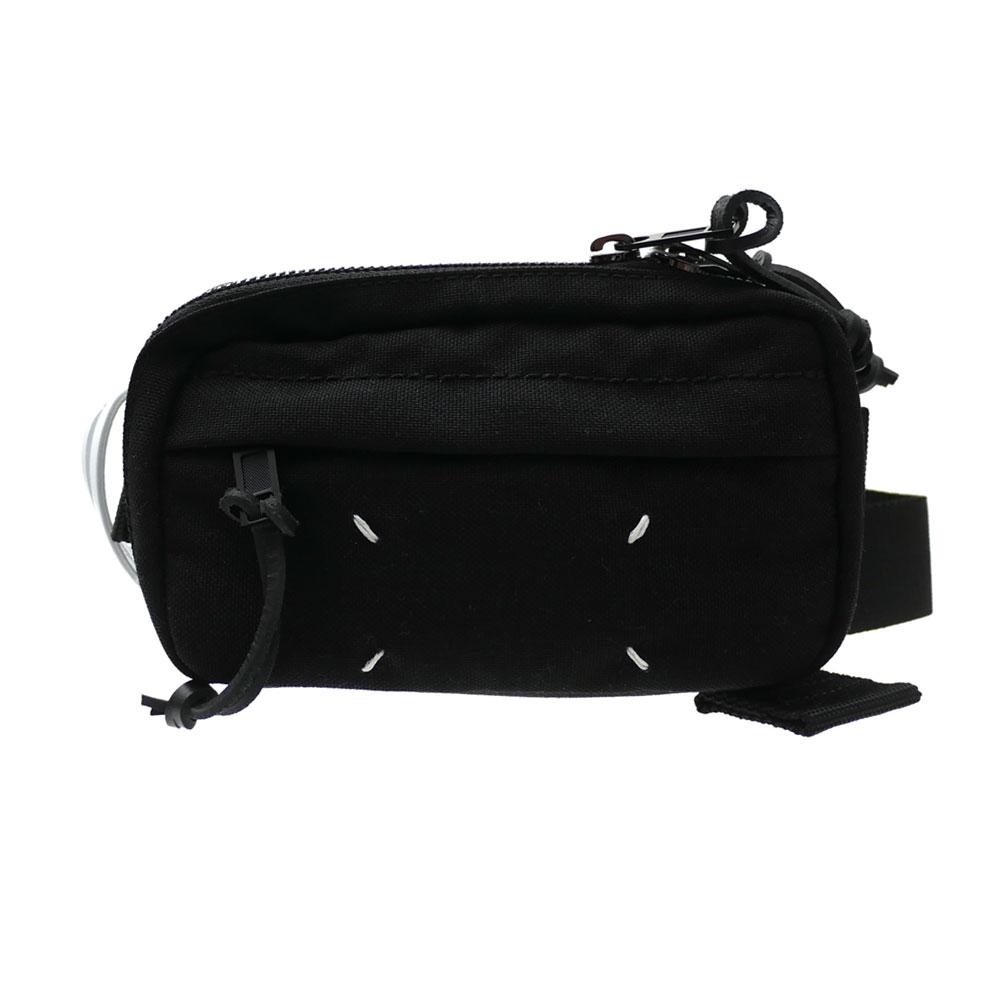 一番の 新品 メゾン・マルジェラ Maison Margiela 黒 S55WB0014 MINI ブラック CROSS BODY レディース POUCH ボディバッグ BLACK ブラック 黒 メンズ レディース, ラビットショップ:cc8dee2a --- gerber-bodin.fr