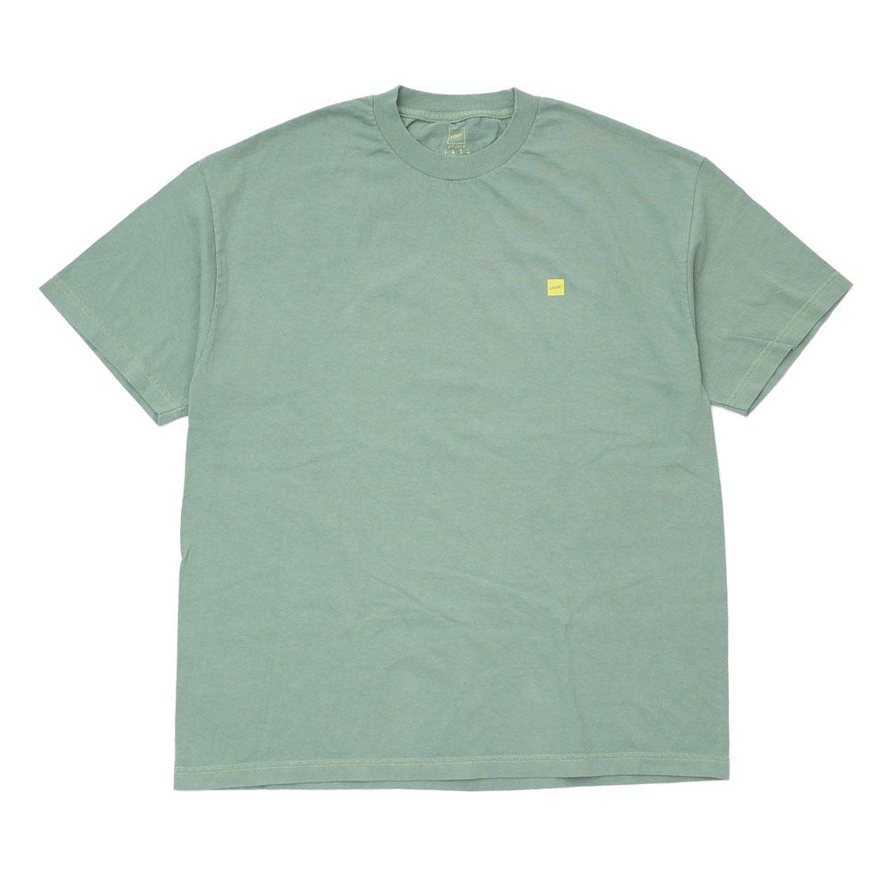 新品 ルックスタジオ LQQK STUDIO MICRO LOGO TEE Tシャツ OVER DYE メンズ 新作
