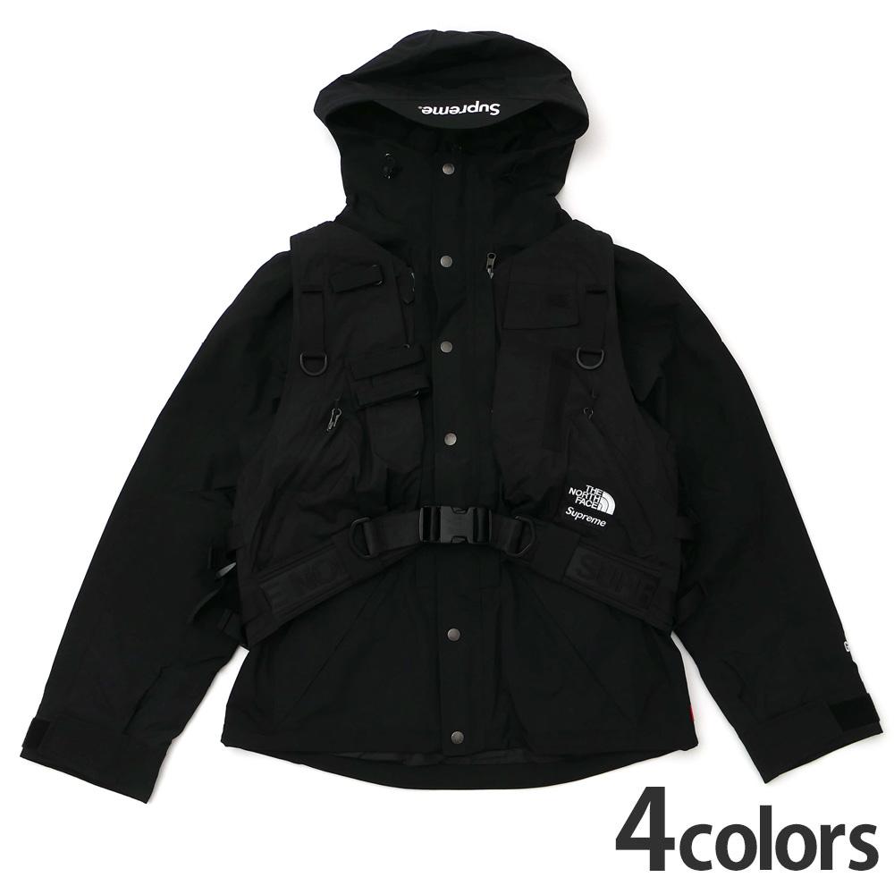新品 シュプリーム SUPREME x ザ ノースフェイス THE NORTH FACE RTG Jacket + Vest ジャケット ベスト NP61903I 新作