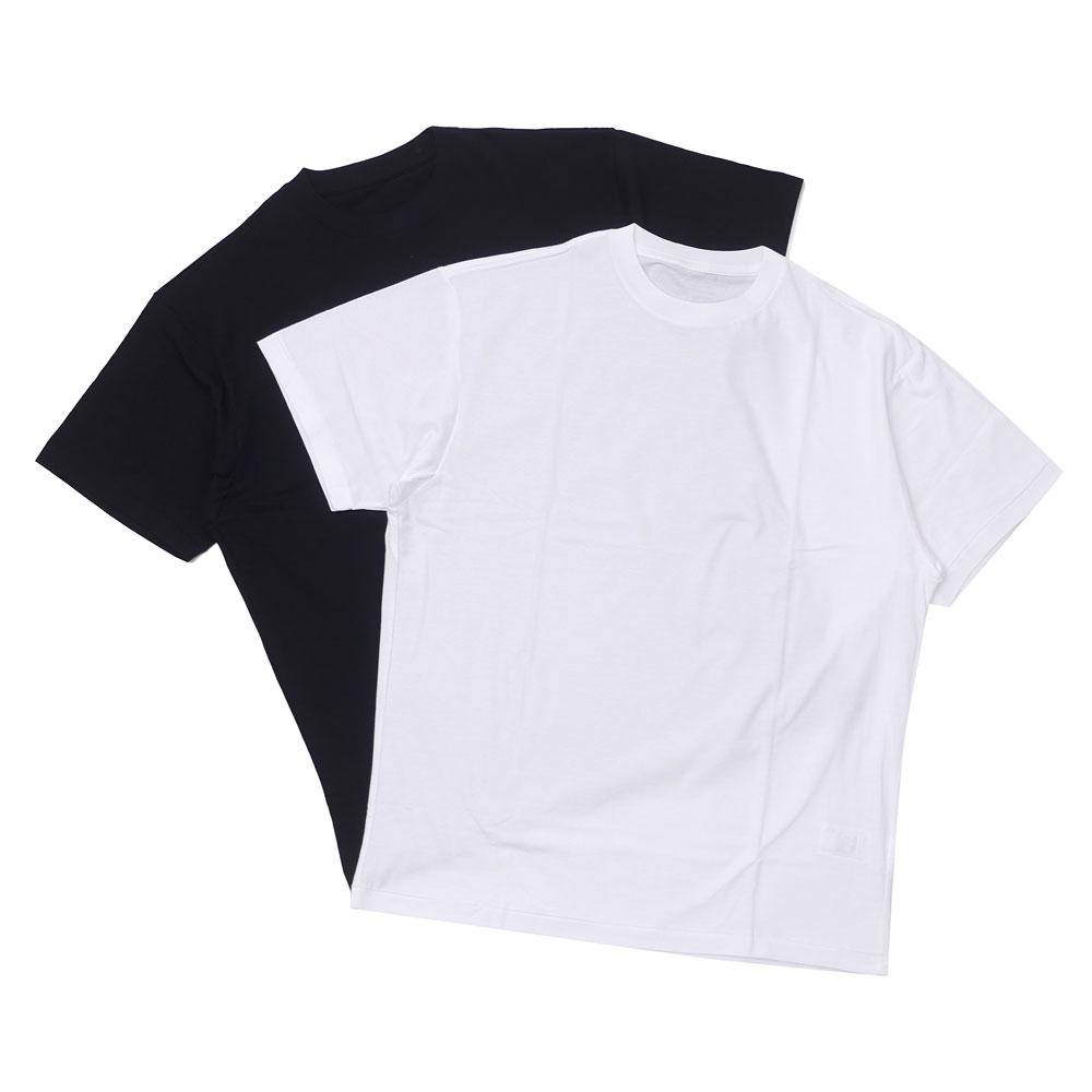 新品 エヌハリウッド N.HOOLYWOOD 2PACK T-SHIRT Tシャツ 2枚セット WHITE&BLACK メンズ 新作
