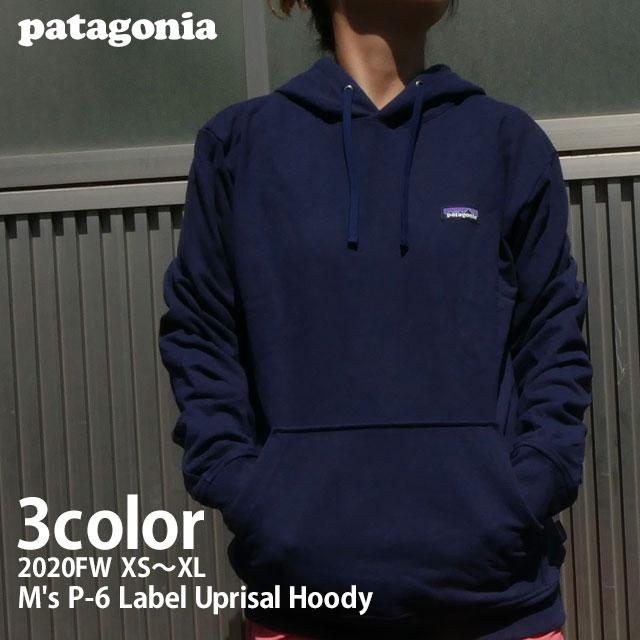 新品 パタゴニア Patagonia M's P-6 新登場 Label Uprisal Hoody P-6ラベル アップライザル 39611 レディース メンズ 21SS パーカー トレンド FIT 新作 レギュラーフィット フーディ REGULAR